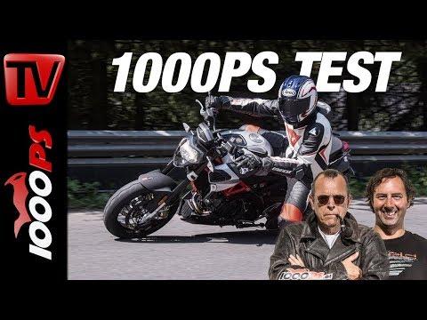 1000PS Test - Aprilia Shiver 900 - Die kleine Schwester der Tuono?