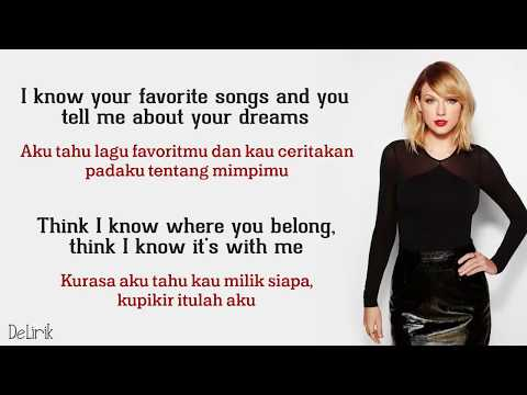 You Belong With Me - Taylor Swift (Lyrics Video Dan Terjemahan)