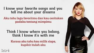 You Belong With Me - Taylor Swift (Lirik video dan terjemahan)