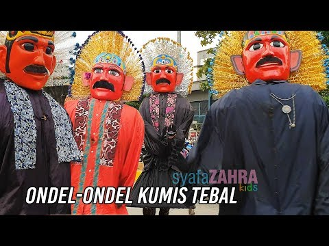 Ondel ondel KUMIS TEBAL adu JOGET di Pulogadung