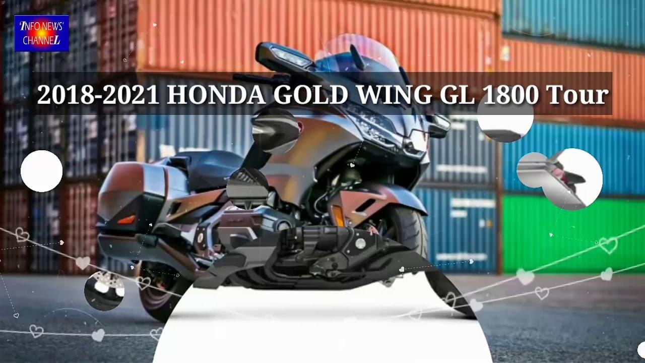 New HONDA GOLDWING GL 1800 2018 - 2021 Tour - YouTube