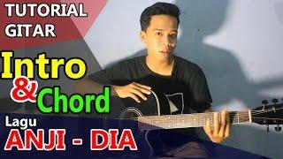 Belajar Gitar Lagu ANJI - DIA chord & intro | Tutorial gitar #1
