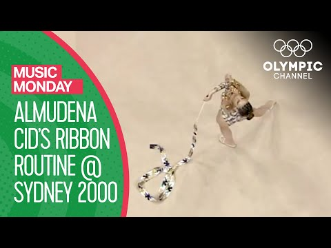 Almudena Cid's Ribbon Routine at Sydney 2000 | Music Monday