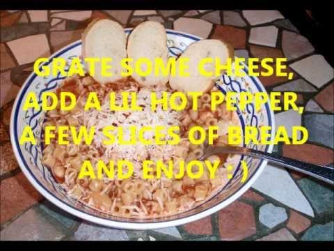 Add Cooking With Joe Pasta Fagioli Youtube