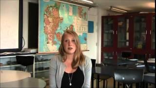 Christina fortæller om at undervise i geografi i skolen og hvad geografifaget kan i folkeskolen
