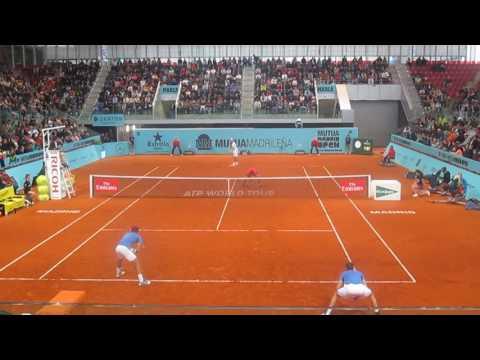 Lukasz Kubot/ Marcelo Melo vs Marcel Granollers/ Ivan dodig Madrid Open 2017 last game