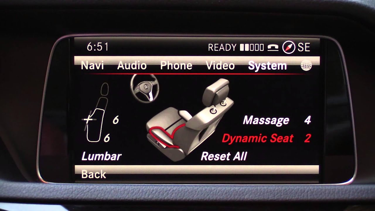 2014 Mercedes Comand Infotainment System Review Youtube