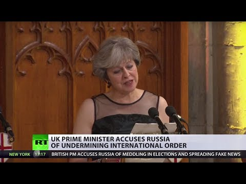 UK PM May calls Russia 'chief threat' amid abysmal domestic ratings
