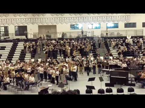 West Ottawa All Bands 2017 - Fight Song