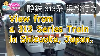 Download Video View from 313Series Train, Shizuoka, Japan / 雨の日のシズ鉄 MP3 3GP MP4