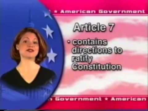 Standard Deviants School American Government  The Constitution of the United States 1