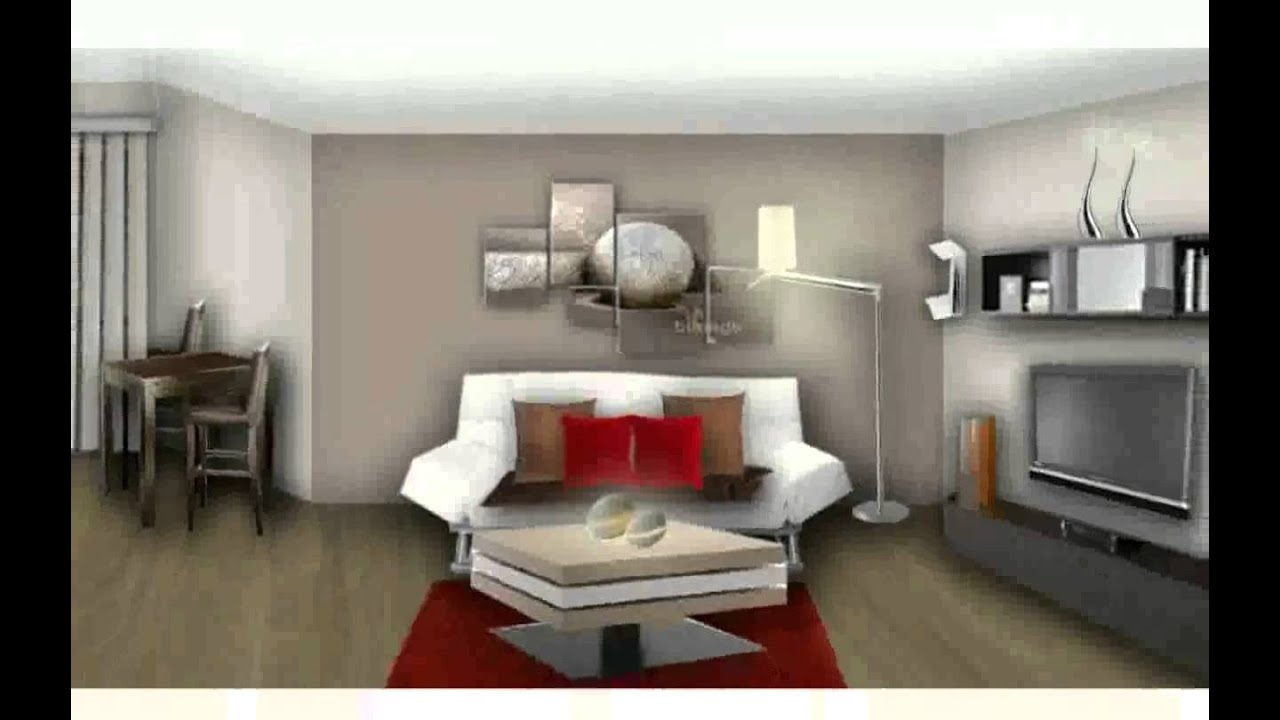 decoration maison moderne youtube. Black Bedroom Furniture Sets. Home Design Ideas