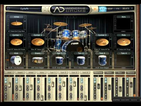 addictive drums metal demo youtube. Black Bedroom Furniture Sets. Home Design Ideas
