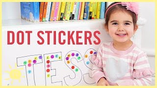 PLAY  5 Clever Dot Stickers Games
