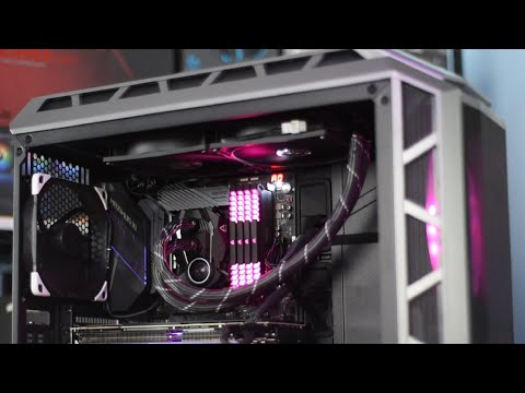Arctic Liquid Freezer II 280 CPU Cooler Installation, Feat. Cooler Master H500P Mesh Case