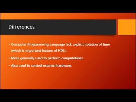 Computer System Assignment 2 - Hardware Description Language & Computer Programming Language