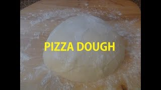 How to make  simple and delicious Homemade Pizza Dough Episode #85