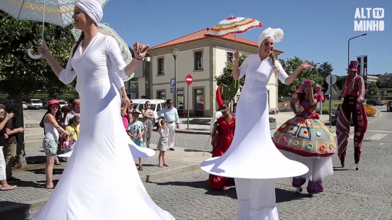 O Crochet Sai à Rua Em Vila Nova De Cerveira Altominho Tv Youtube