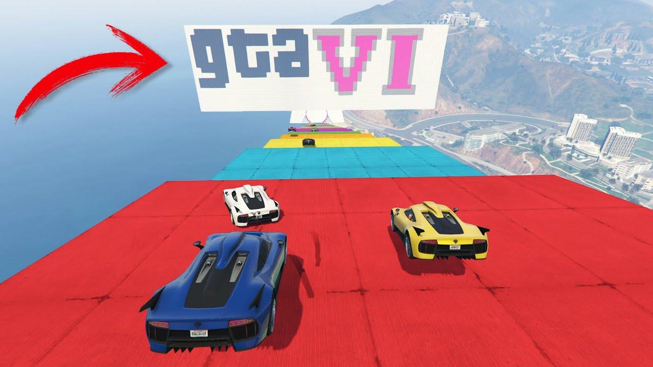 LA MEGA RAMPA IMPOSIBLE DE GTA 6!! - GTA V ONLINE