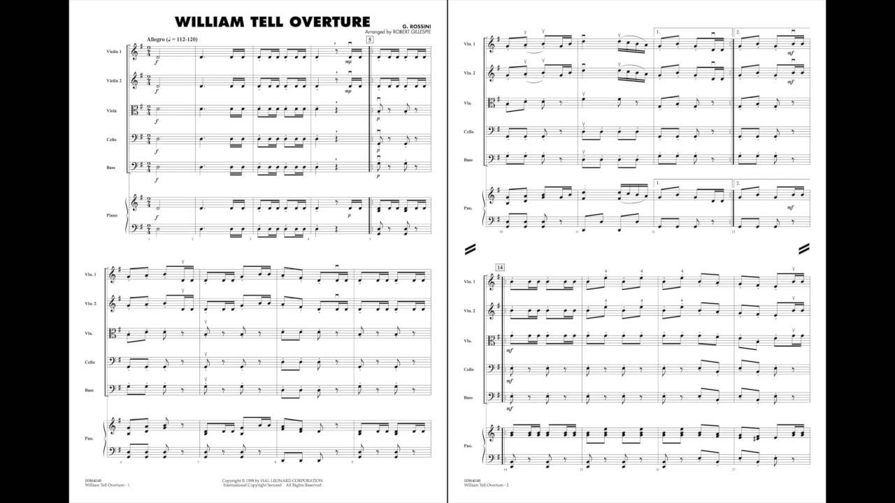 overture to william tell by gioachino Play and download william tell overture mp3 songs from multiple sources at free aiomp3 songs  gioachino rossini: william tell overture (samohi in.