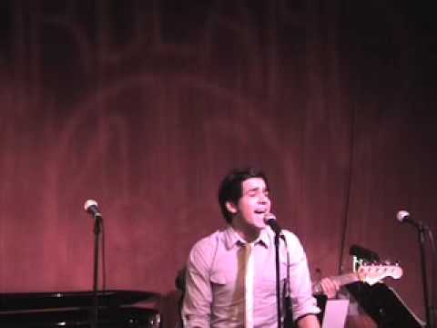 'Kiss The Air' sung by Liam Tamne Live at Birdland 1/12/09