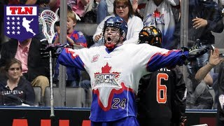 Brenden Thenhaus One Hands A No Look Goal Nll Audio Of The Week
