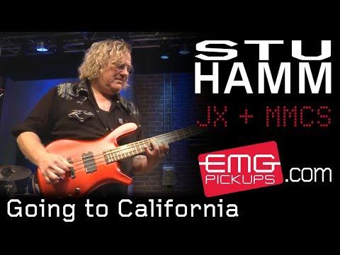 "Stu Hamm Band plays ""Going to California"" on EMGtv"