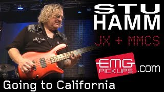 "Stu Hamm Band plays ""Going to California"" on EMGtv"
