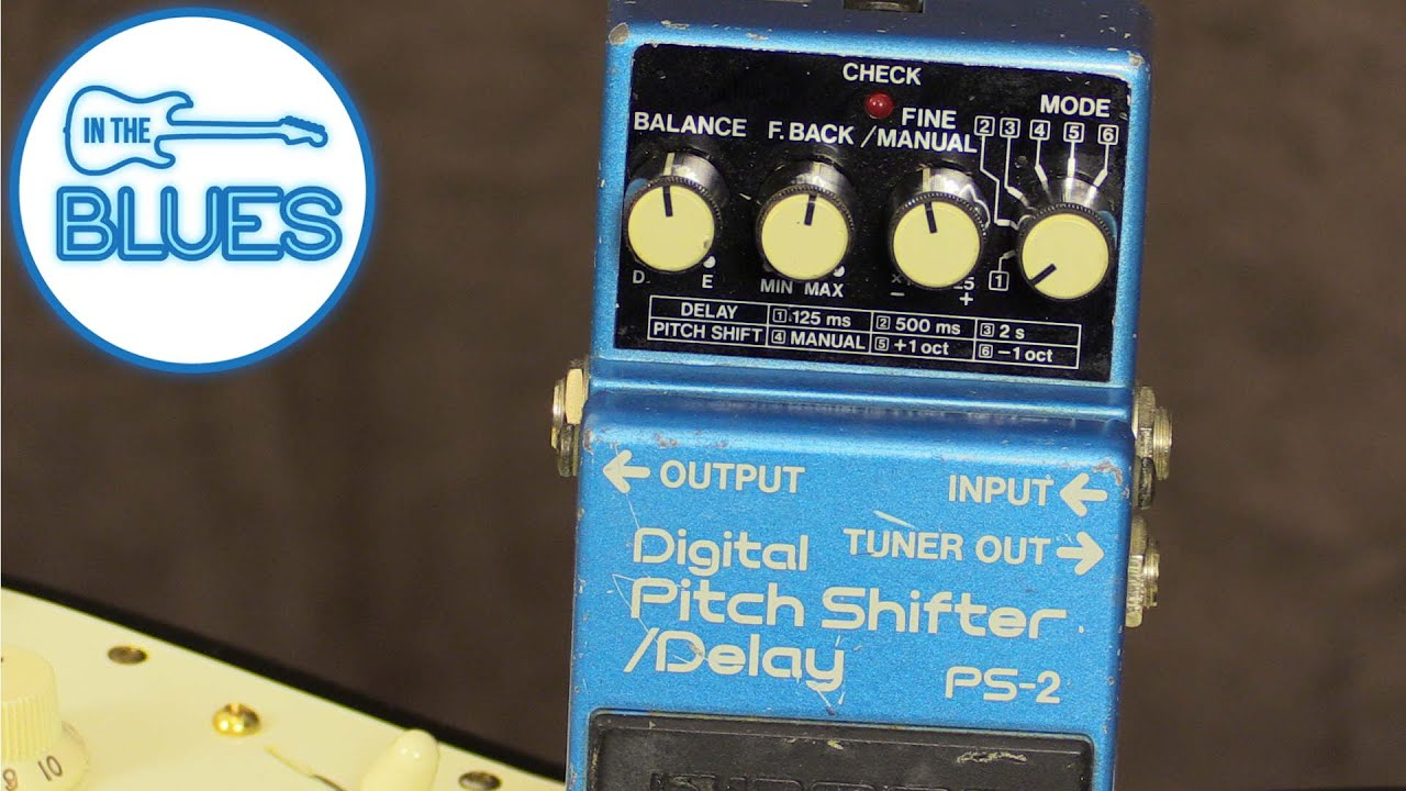 BOSS PS 2 Digital Pitch Shifter / Delay (1980's)