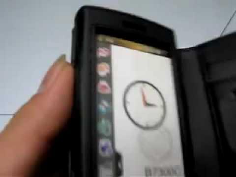 Capa de couro Premium Horizontal proteção para Samsung B7300 B7300C Leaked