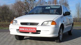 Autokomis Soloch Oferta sprzedaży: Suzuki Swift III 1.0 53KM 2001 -Prezentacja. Goczałkowice-Zdrój