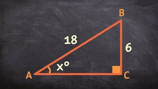 Learn to find the missing angles for a triangle using inverse trig functions
