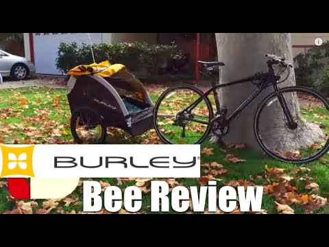 Burley Bee Bike Trailer Review
