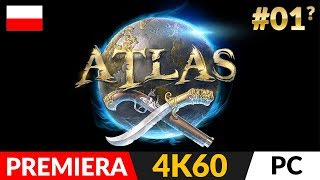 ATLAS PL ⛵️ #1 (odc.1?)  ARK + Piraci, smoki i survival | Gameplay po polsku w 4K Ultra