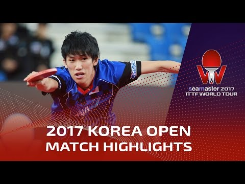 Thumbnail: 2017 Korea Open Highlights: Timo Boll vs Maharu Yoshimura (1/2)