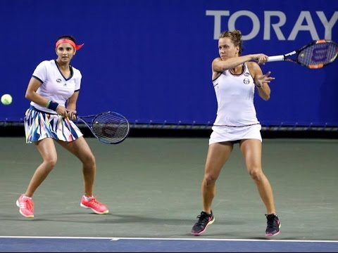 Sania Mirza-Barbora Strycova Lose in Wuhan Open Women's Doubles Final