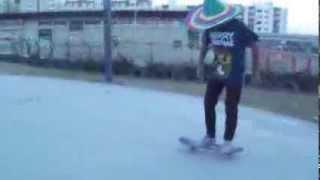 How to kickflip Yigit Delici Pergola Skate Team