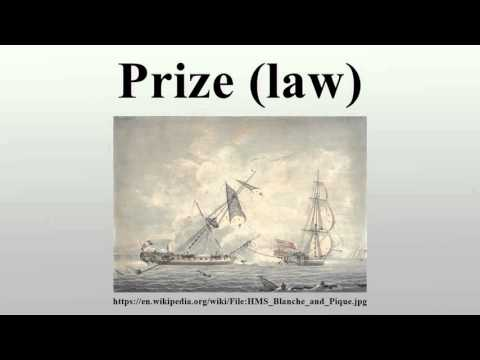 Prize (law)