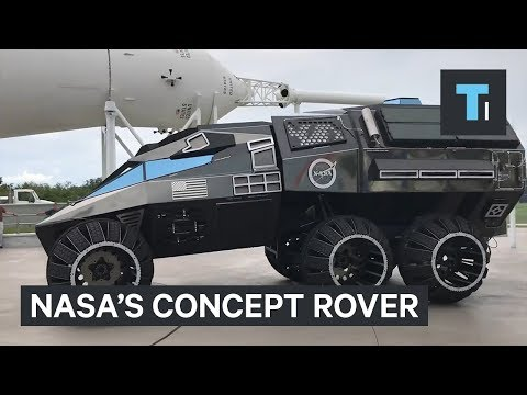 NASA's new Mars rover concept looks like a Batmobile