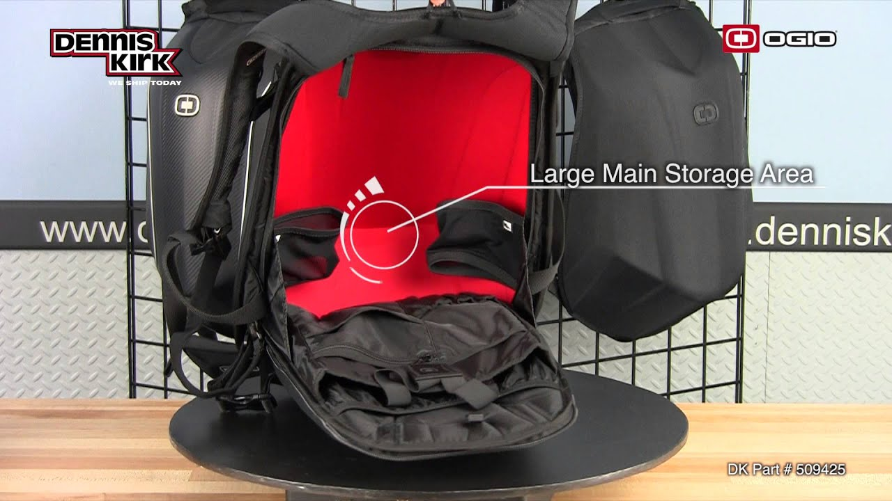 Ogio: Mach 3 Stealth No Drag Backpack - YouTube