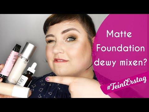 CAKEY FOUNDATION RETTEN 🙀 3 verschiede Produkte ins Makeup gemixt. DAS kam dabei raus! #TeintErstag
