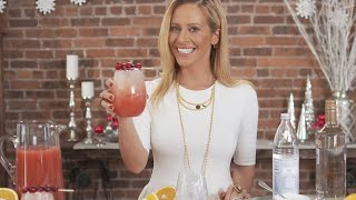 Holiday Cocktails With Dina Manzo | Haute Hostess
