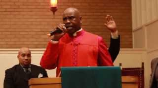 Bishop McCarter preaching at AFCOD Holy Convocation 2013