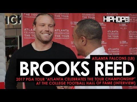 "Atlanta Falcons Brooks Reed Talks 2017 Falcons, & More (""Atlanta Celebrates the TOUR Championship"")"