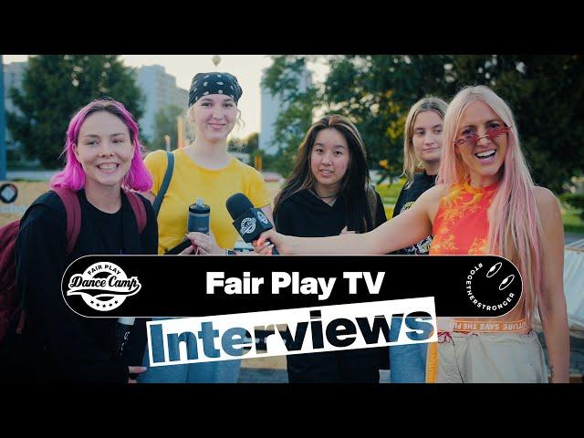 Fair Play Dance Camp 2021 | Interviews by Baiba Klints [FAIR PLAY TV]
