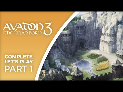 Let's Play Avadon 3: The Warborn - Part 1 - New indie RPG from Jeff Vogel