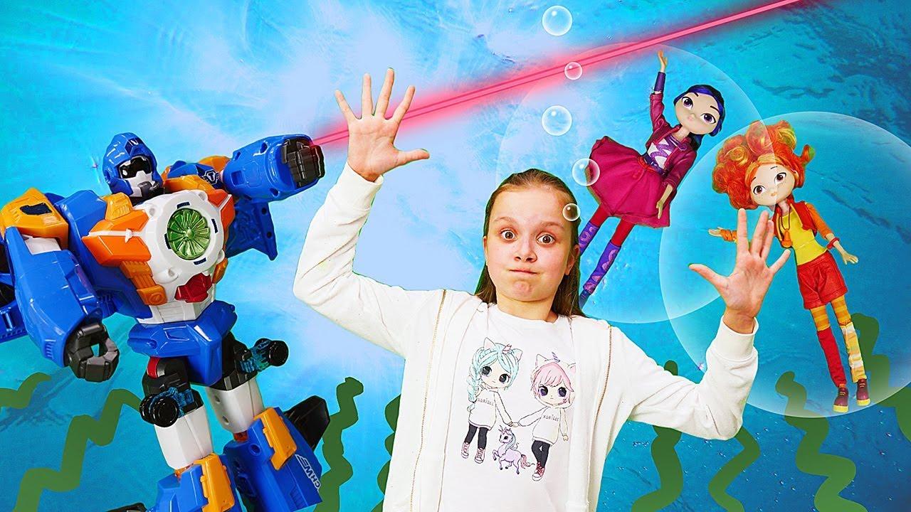 Куклы Сказочный Патруль попали в подводный мир. Видео для ...