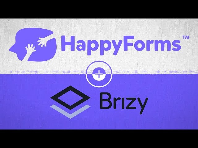 HappyForms & Brizy