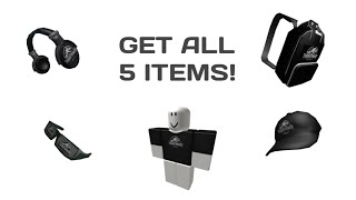 Roblox how to get ALL the Jurassic world event items (easy)