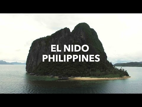 EL NIDO PHILIPPINES - One of the Most Beautiful Places in the World (4K Drone Footage)
